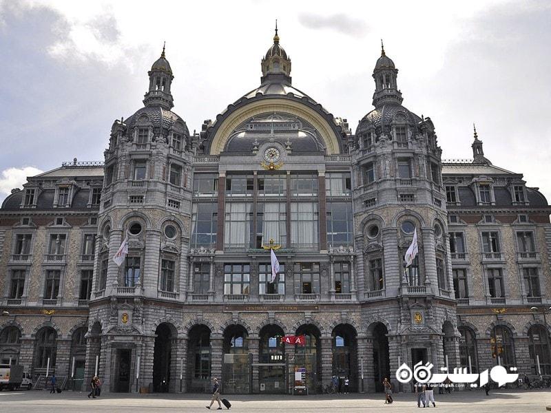 ایستگاه قطار آنتورپ سنترال (Antwerpen-Centraal Station)، بلژیک