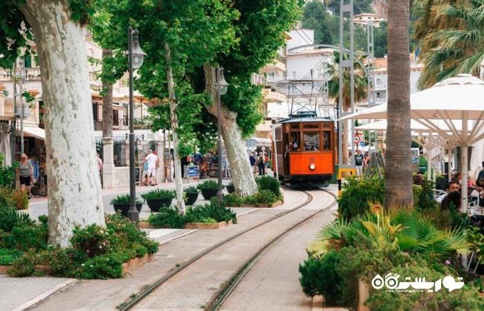 سولیر (Sóller) یکی از شگفت انگیزترین شهرهای اسپانیا