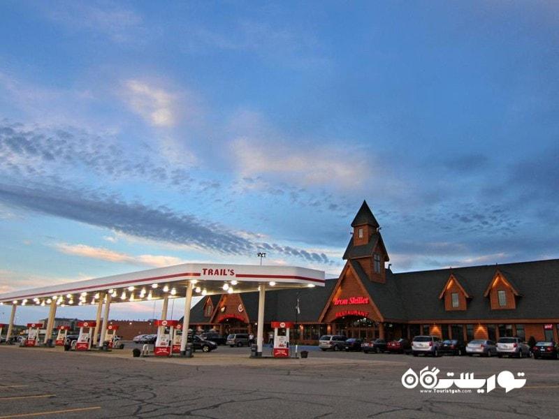 3- ترِیلز ترَوِل سِنتِر (Trail's Travel Center)، ایالت مینه سوتا (Minnesota)