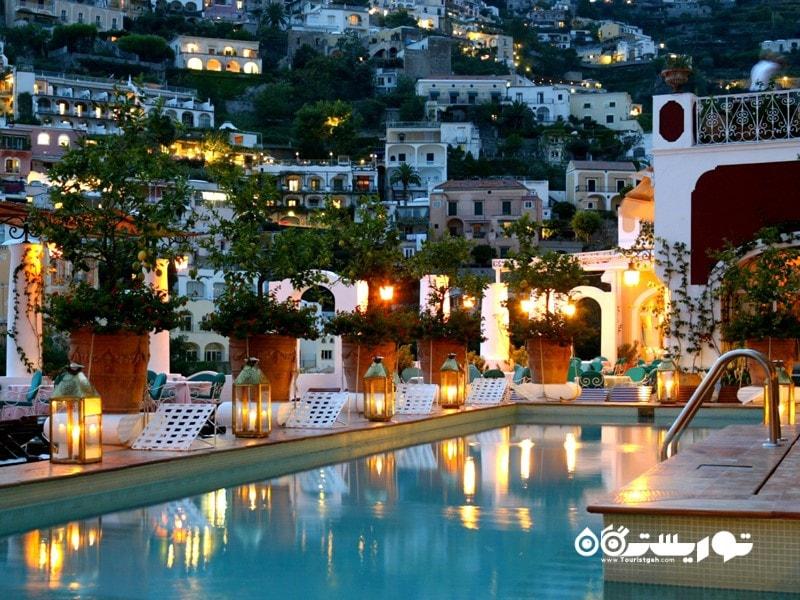 5- هتل لِ سارنیوس، پوزیتانو، ساحل آمالفی، ایتالیا