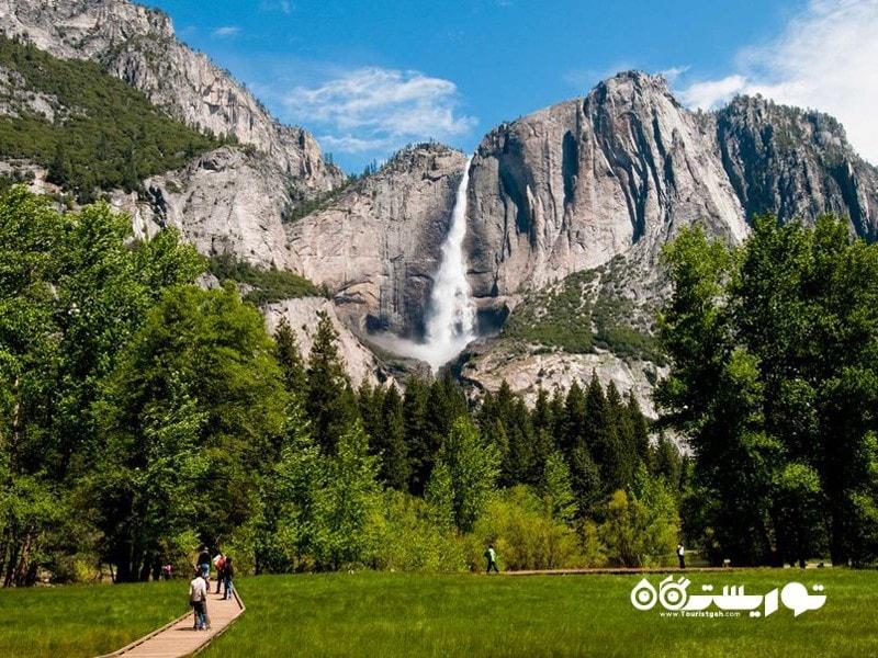 مرتفع ترین آبشار در کشور آمریکا