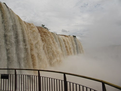 IMG 7262 - سفر به آمریکای جنوبی - برزیل - آبشار ایگواسو (Foz do Iguaco)