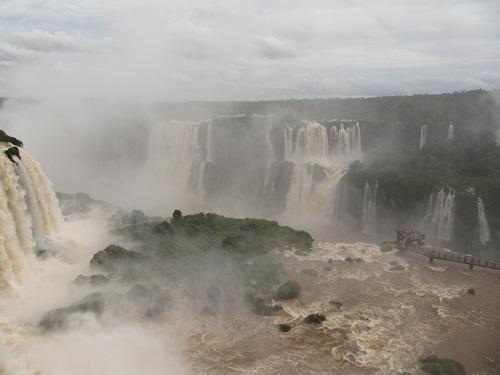 IMG 7276 - سفر به آمریکای جنوبی - برزیل - آبشار ایگواسو (Foz do Iguaco)