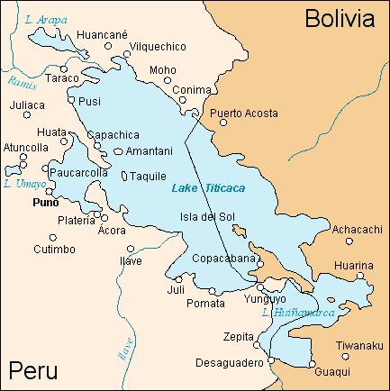 Titicaca - سفر به آمریکای جنوبی - پرو - دریاچه تیتیکاکا Titicaca