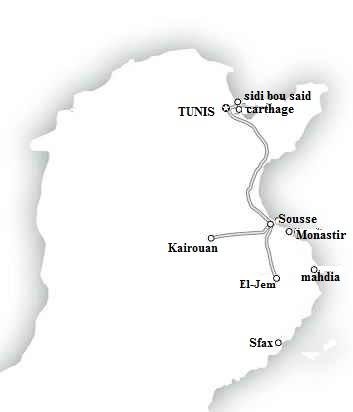 TunisiaItinerary - سفر به تونس - مقدمات سفر