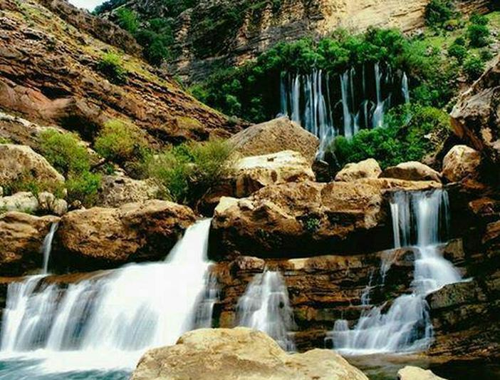 آبشار شوی - تله زنگ