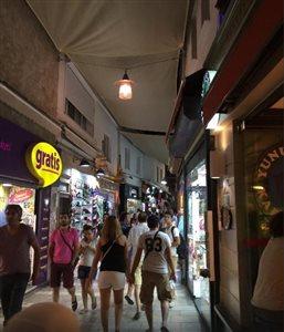 بازار بدروم   Shopping street cumhuriyat cad
