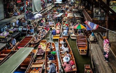 بازار شناور بانکوک   Floating Market