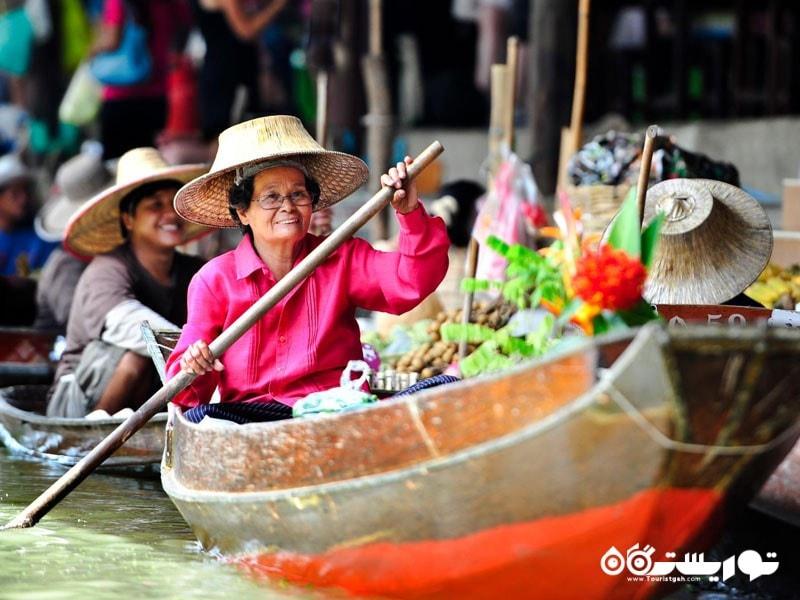 بازارهای شاور در تایلند