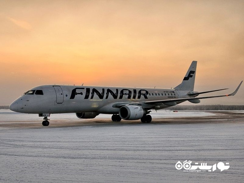 در کاسامو حتی سراسر باند فرودگاه هم با برف پوشانده شده.