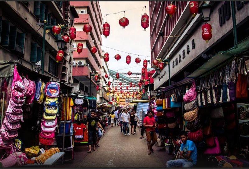 محله چینی ها مالزی