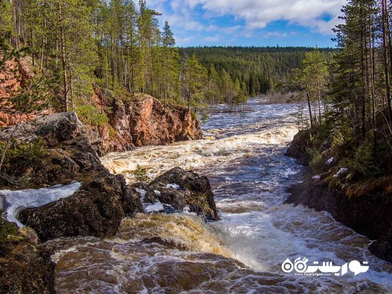 8- پارک ملی اولانکا (Oulanka National Park)، فنلاند