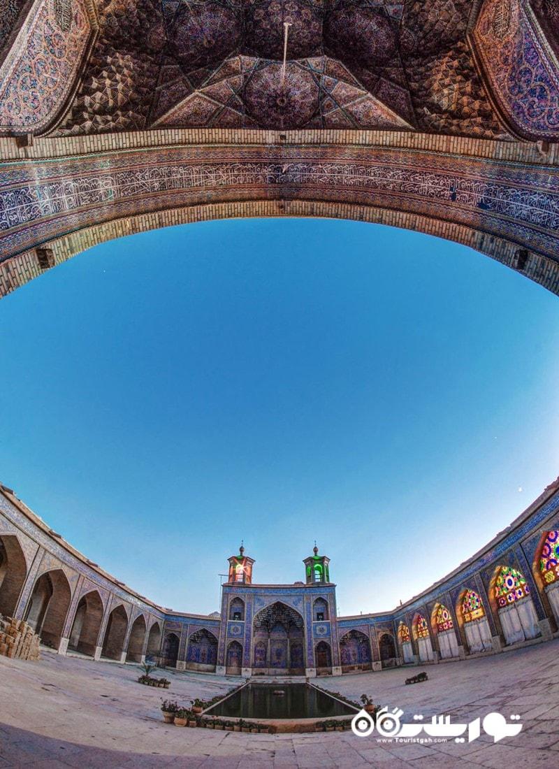 طاق اصلی مسجد نصیر الملک