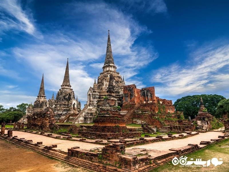 شهر آیوتایا پایتخت پادشاهی تایلند