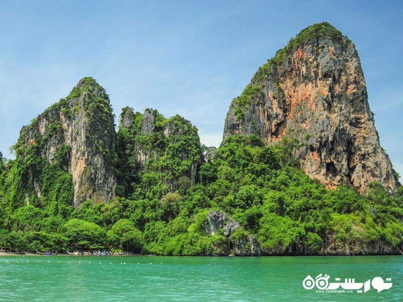 نمایی زیبا از سواحل تایلند