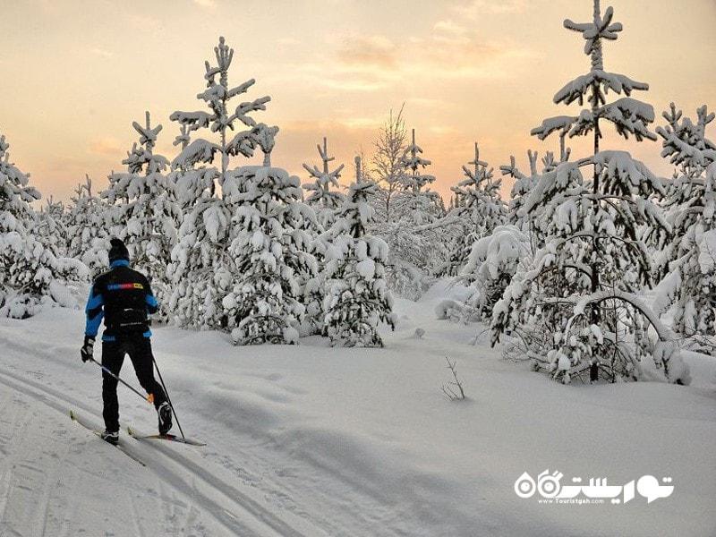 مسیر اسکی با طول بیش از 160 کیلومتر