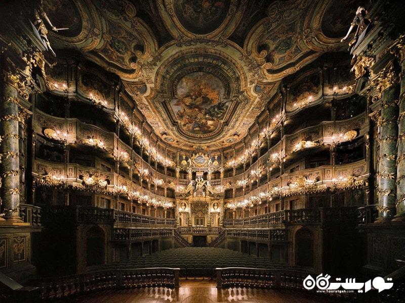 آلمان ، سالن اپرا مارگراویلا در شهر باروت