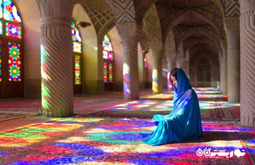 غرق در رویای رنگ ها