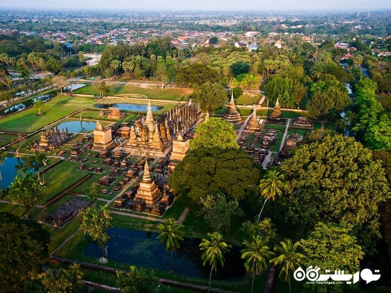 پارک تاریخی سوکوتایی در تایلند