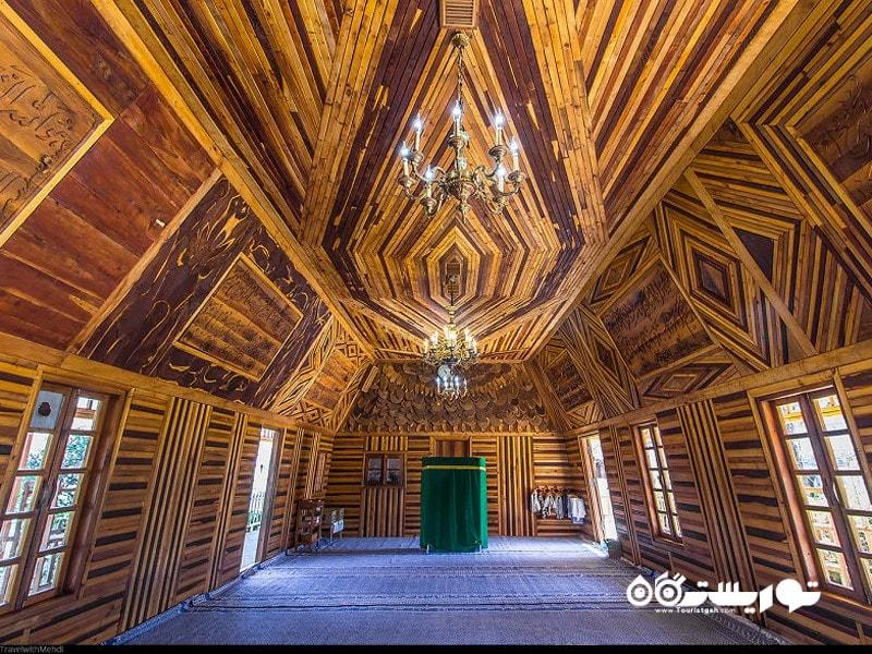 مسجد چوبی (نمونه ای از معماری پایدار)، نیشابور، استان خراسان رضوی