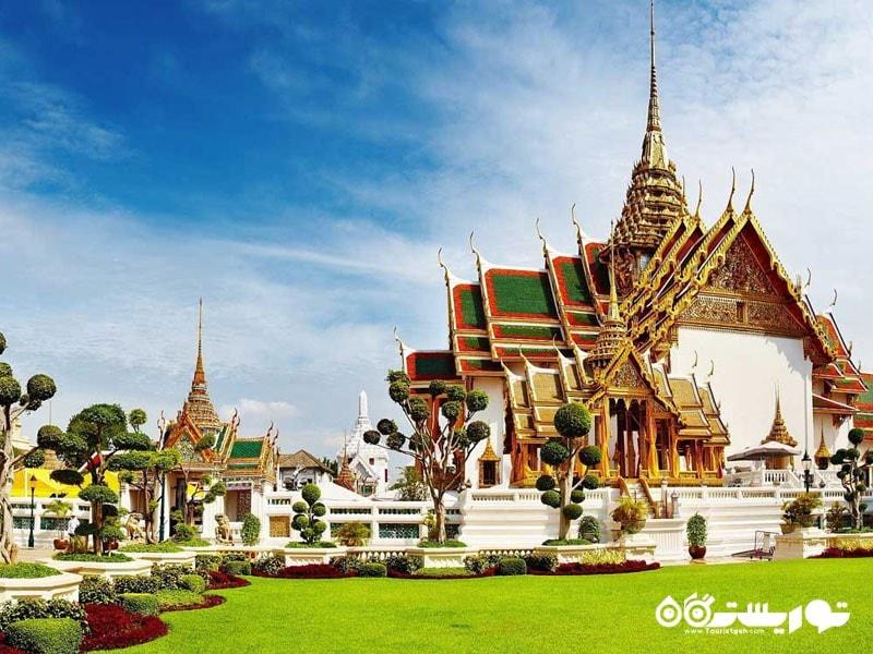 گرند پَلِس و معبد وات فرا کائو