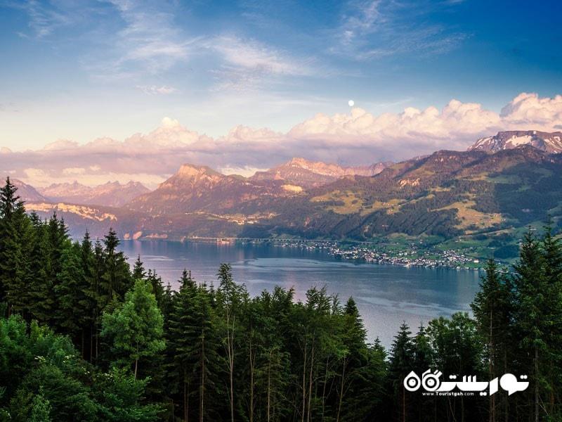 8. دریاچه زوریخ (Zurich)