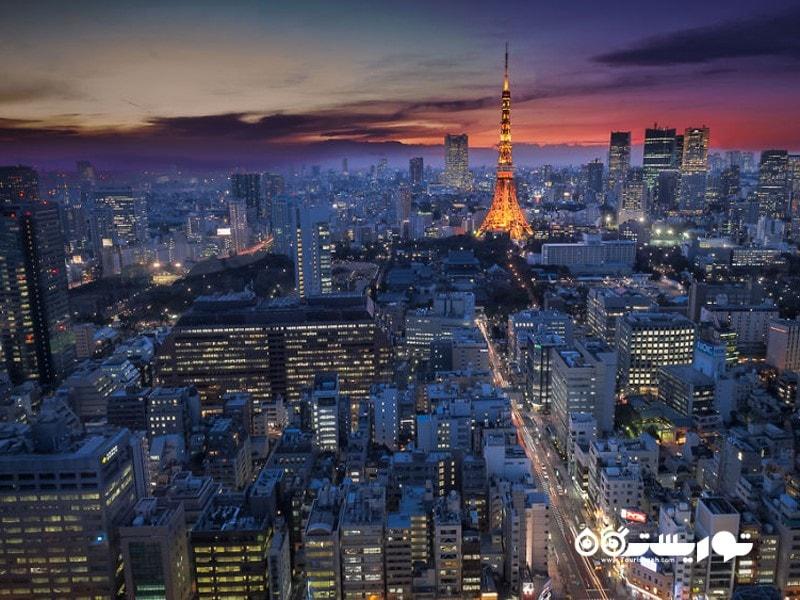توکیو تاور در کشور ژاپن