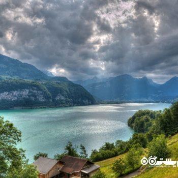 12 مورد از زیباترین دریاچه های سوئیس
