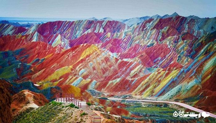 منطقه دانکزیا از شگفتی های طبیعی جنوب چین