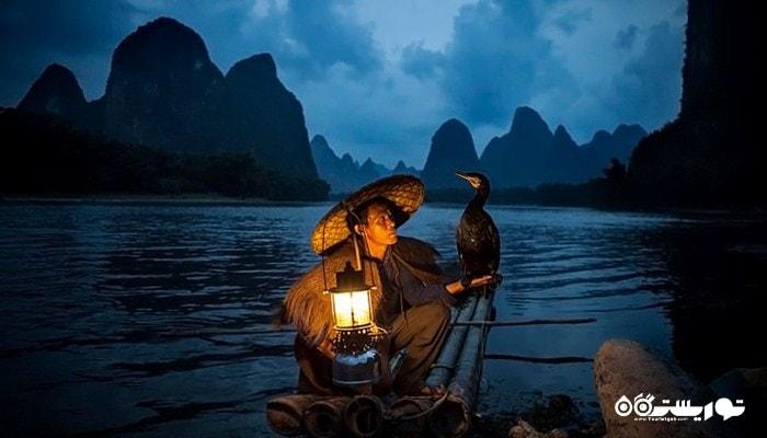 رودخانه لی یکی از محبوب ترین نقاط گردشگری در چین