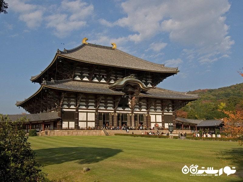 ژاپن ، آثار تاریخی شهر باستانی نارا
