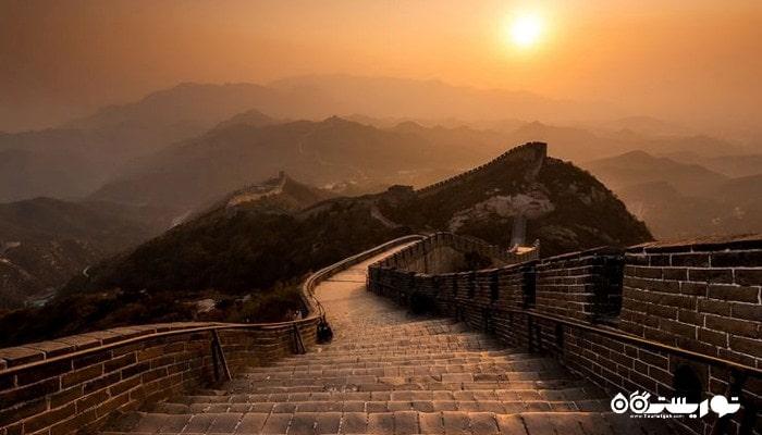 دیوار چین بزرگترین سازه نظامی جهان در چین