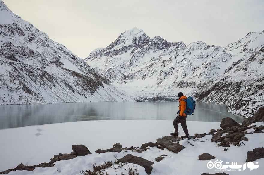 دریاچه هوکر و کوهستان کوک، ائوراکی و کوهستان کوک نشنال پارک (پارک ملی)
