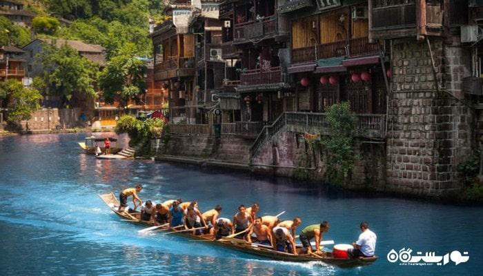 فرد تیانمن در استان هونان کشور چین