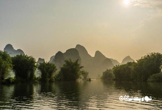 منظره ای از جنوب شرقی ترین نقطه چین
