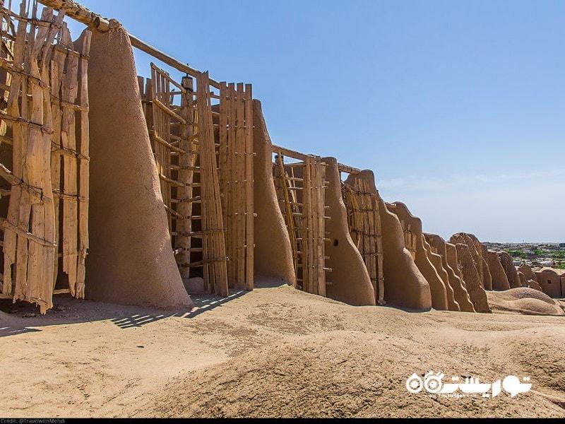آسیاب های بادی تاریخی نَشتیفان، روستای نَشتیفان، استان خراسان رضوی
