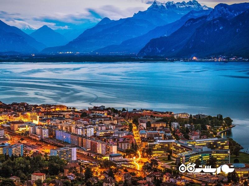 2. دریاچه ژنو (Geneva)