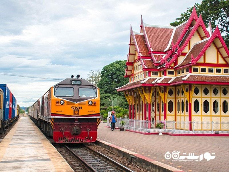 ایستگاه قطار هوآ هین (Hua Hin)، تایلند