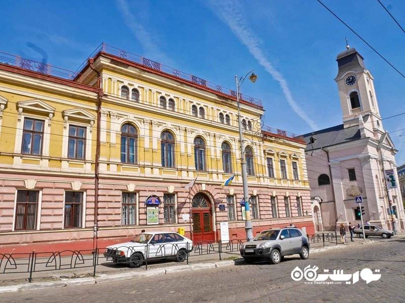 چرنیوتسی (Chernivtsi) در اوکراین