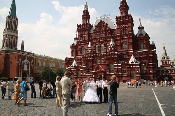 State Historical Museum seen from Red Square, Moscow, 2006-07 (C) Seiji Yoshimoto