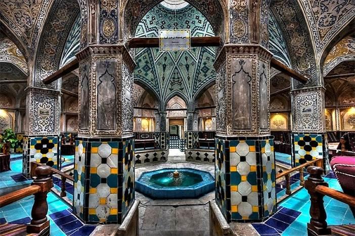 حمام تاریخی سلطان امیراحمد کاشان