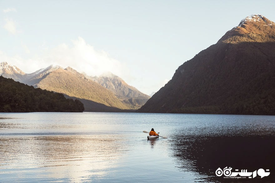 دریاچه گان، فیوردلند نشنال پارک (پارک ملی)