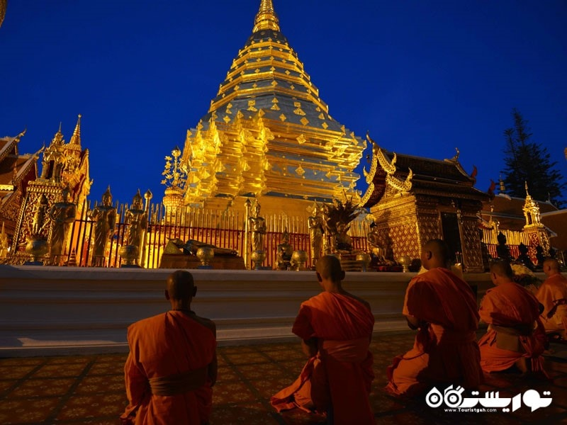 خانقاه دوی سوتِپ معبدی در تایلند