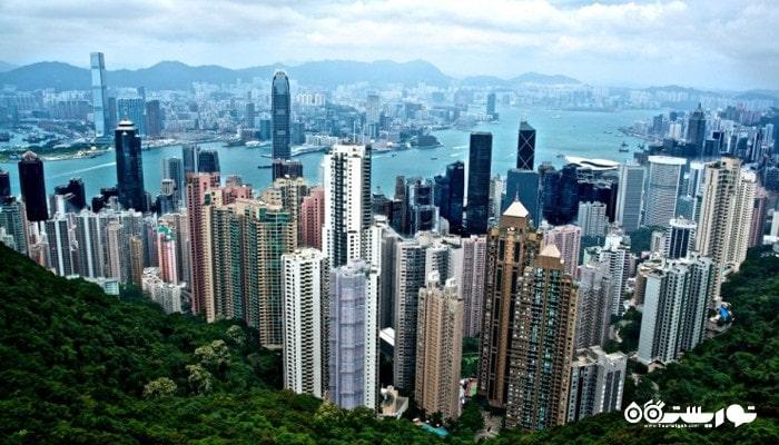 شهر هونگ کونگ در کشور چین