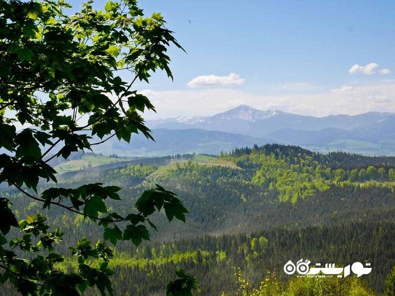 کوه های کارپات (Carpathian Mountains) در اوکراین