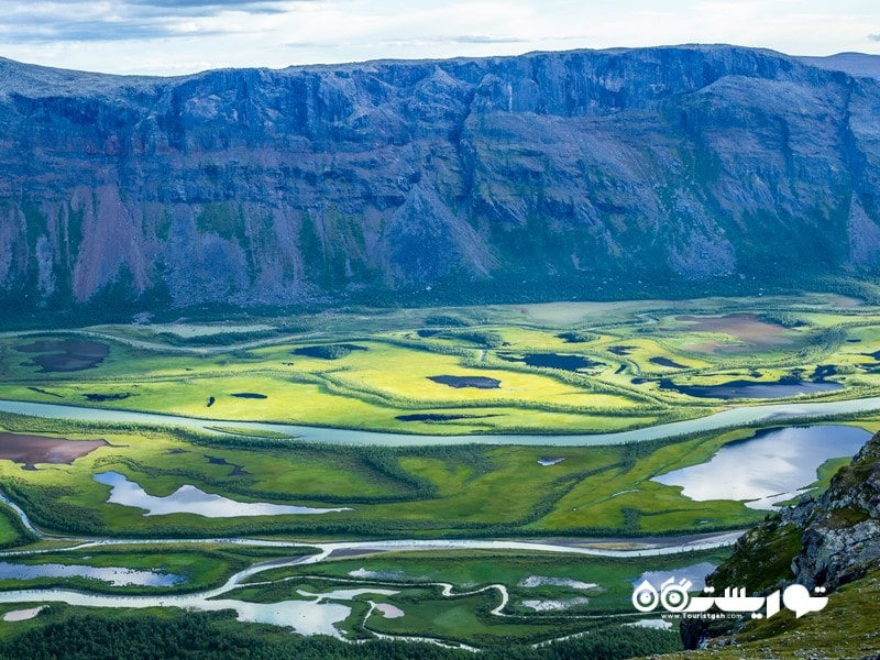 11- پارک ملی سارک (Sarek National Park)، سوئد
