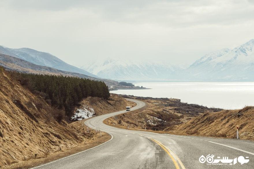 جاده به طرف کوهستان کوک