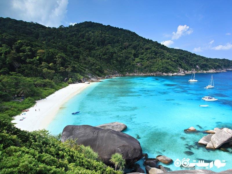 جزیره سیمیلِن در تایلند