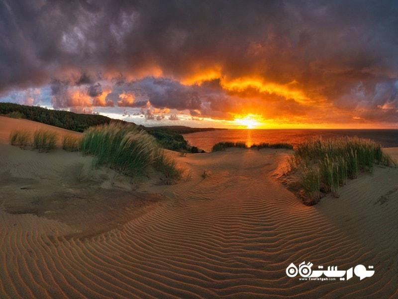 7- پارک ملی نواره کورونی (Curonian Spit National Park)، لیتوانی