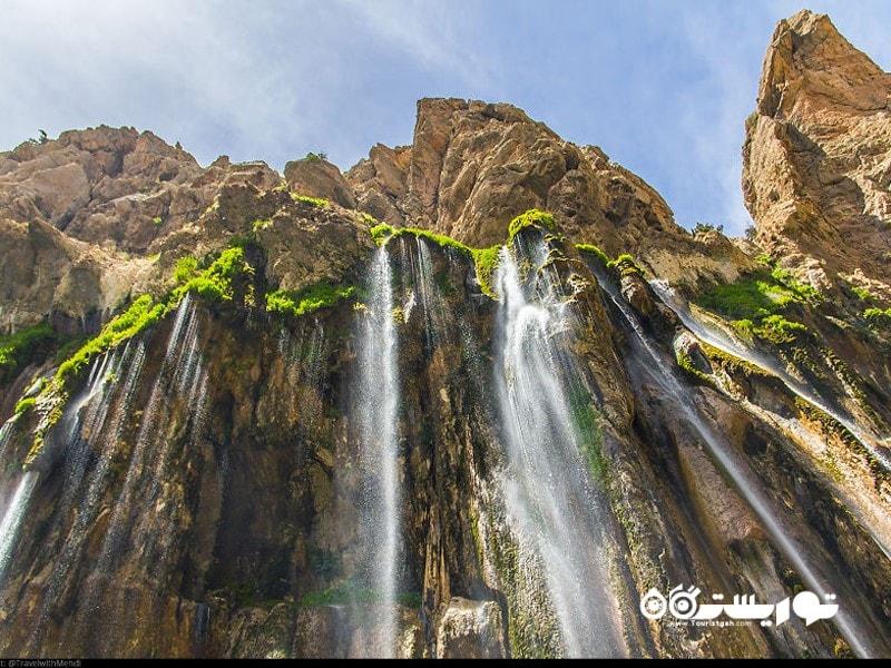 آبشار مارگون، شهرستان مارگون، استان فارس